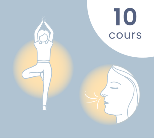 10 cours de yoga - respiration