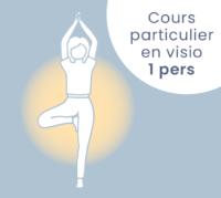 Cours de yoga individuel en visio
