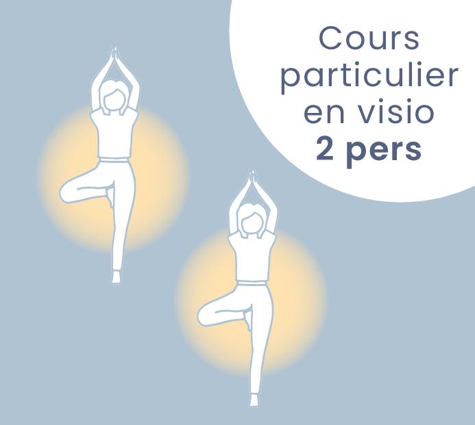 cours particulier de yoga en duo