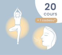 Hatha yoga – respiration/relaxation : 20 cours au choix