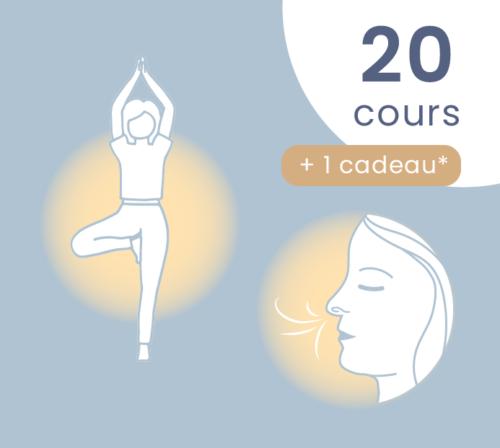 20 cours de yoga - respiration