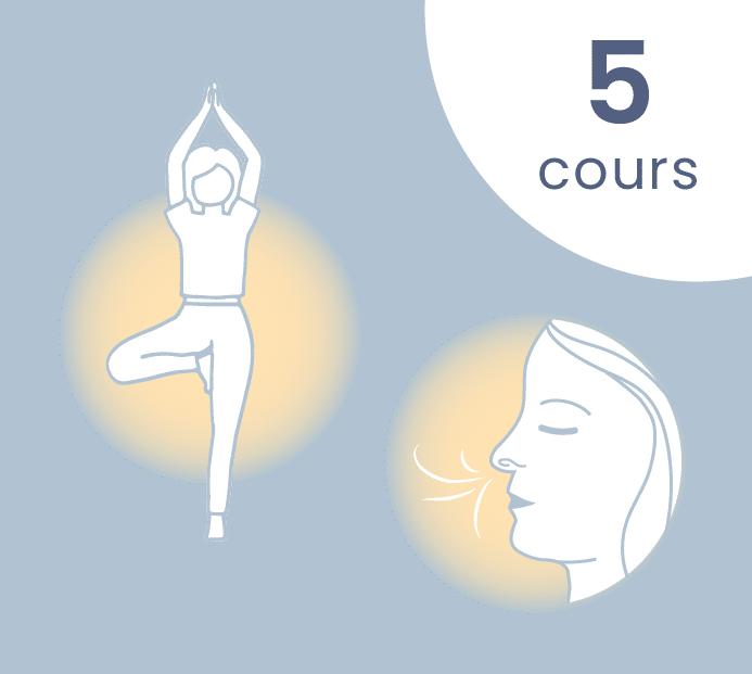 5 cours yoga respiration en visio